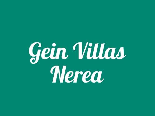Gein Villas Nerea