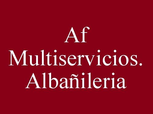 Af Multiservicios. Albañileria