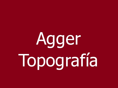 Agger Topografía