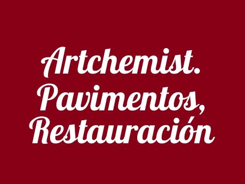 Artchemist. Pavimentos, Restauración