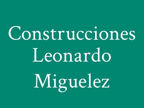 Construcciones Leonardo Miguelez