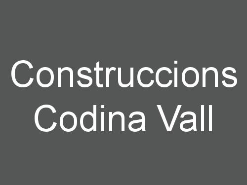 Construccions Codina Vall