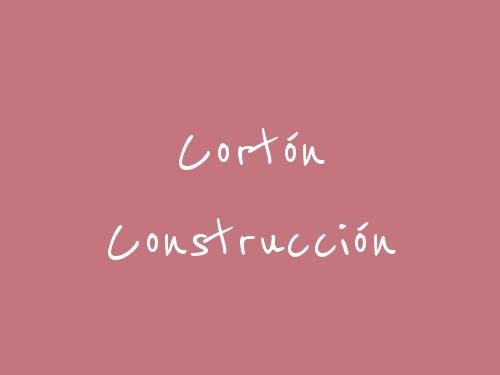 Cortón Construcción