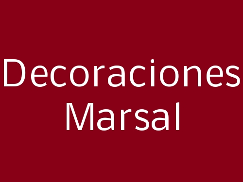 Decoraciones Marsal
