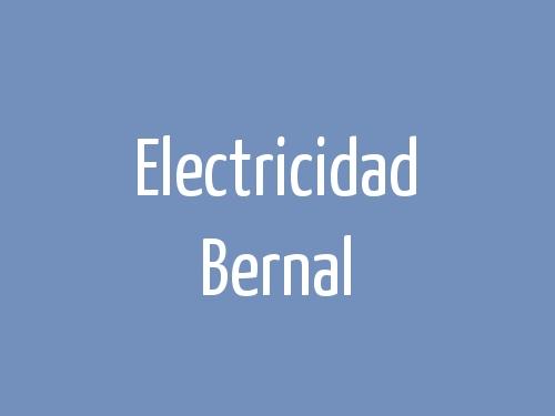 Electricidad Bernal