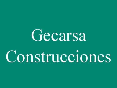 Gecarsa Construcciones y Contratas