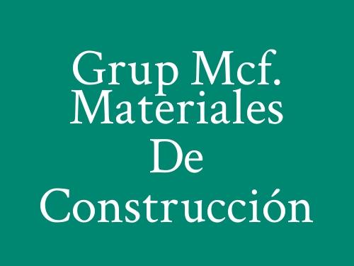 Grup Mcf. Materiales de Construcción