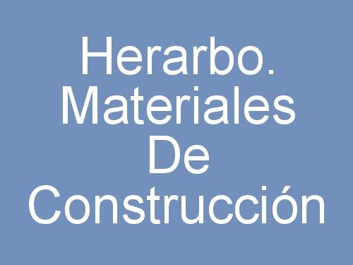 Herarbo. Materiales de Construcción