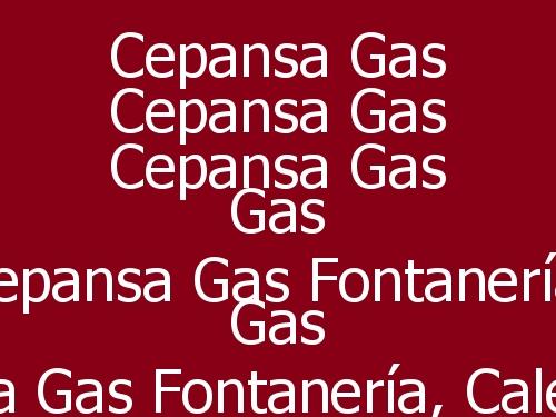 Cepansa Gas  Fontanería, Calefacción y Gas