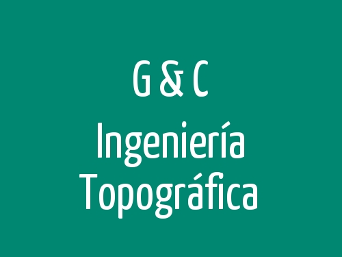 G & C Ingeniería Topográfica