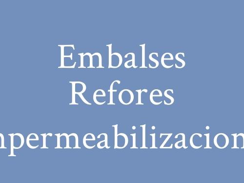 Embalses Refores  Impermeabilizaciones
