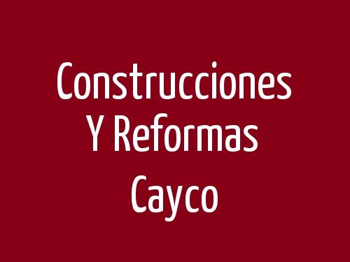 Construcciones y Reformas Cayco