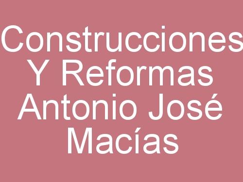 Construcciones y Reformas Antonio José Macías