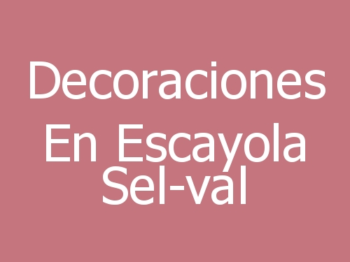 Decoraciones En Escayola Sel-val