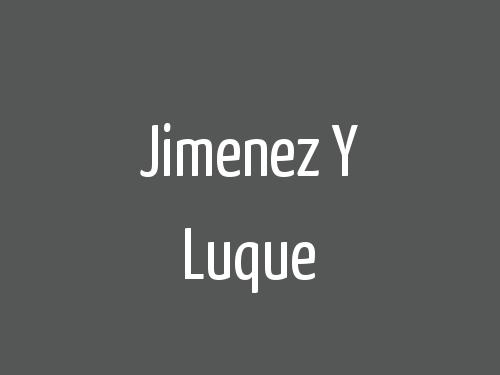 Jimenez y Luque