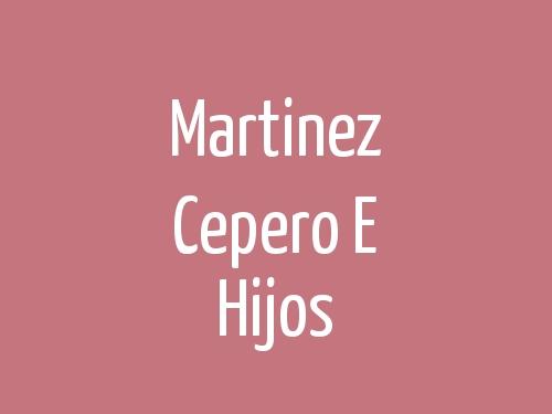Martinez Cepero E Hijos