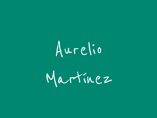 Aurelio Martínez