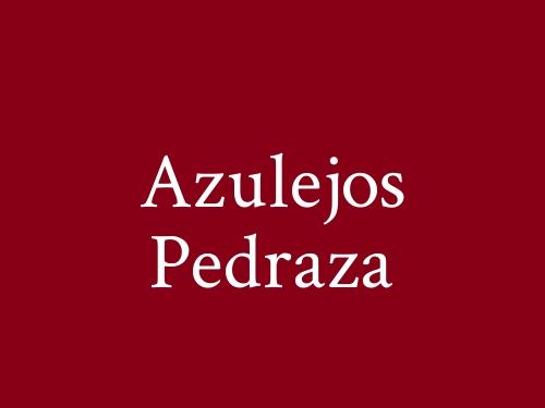 Azulejos Pedraza