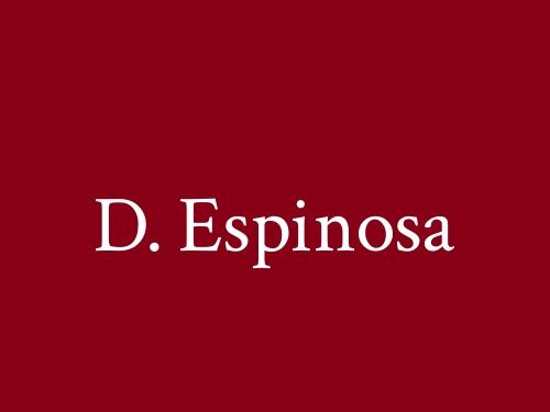 D. Espinosa