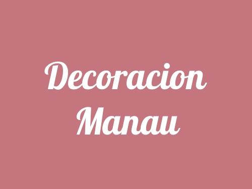 Decoracion Manau