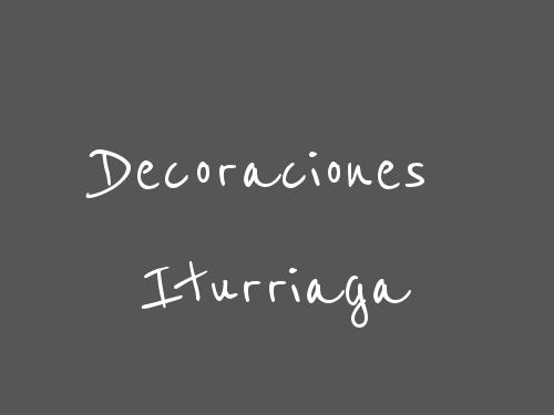 Decoraciones Iturriaga
