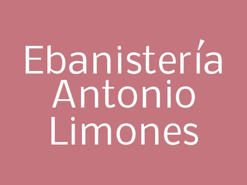 Ebanistería Antonio Limones