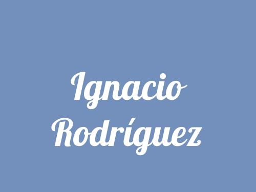 Ignacio Rodríguez