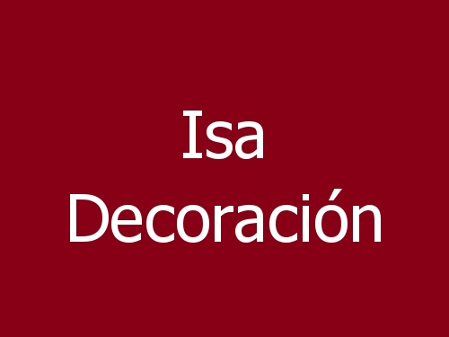 Isa Decoración
