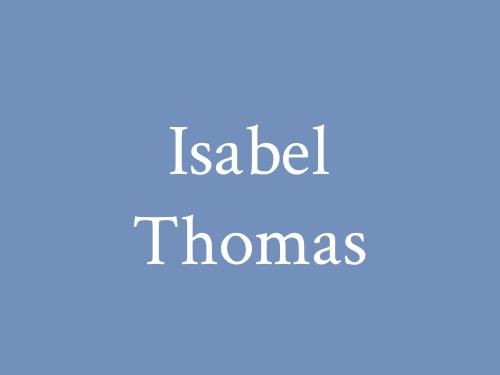 Isabel Thomas