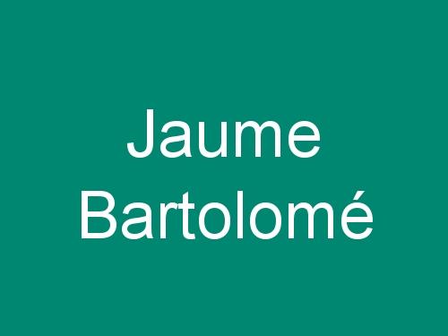 Jaume Bartolomé