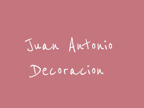 Juan Antonio Decoracion