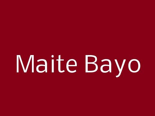 Maite Bayo