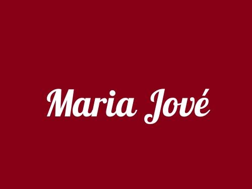 Maria Jové