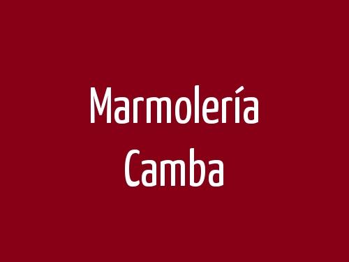 Marmolería Camba