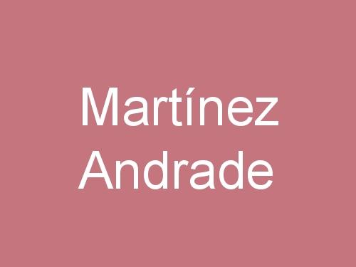 Martínez Andrade