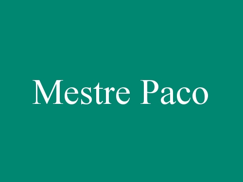 Mestre Paco