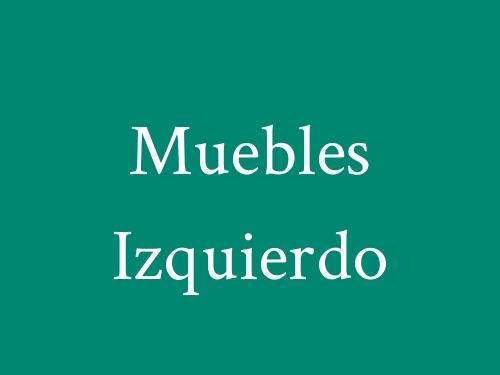 Muebles Izquierdo
