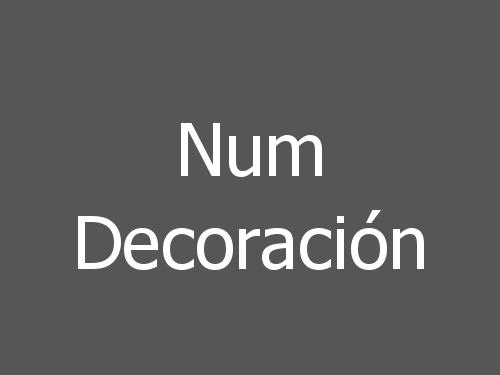 Num Decoración