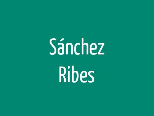 Sánchez Ribes