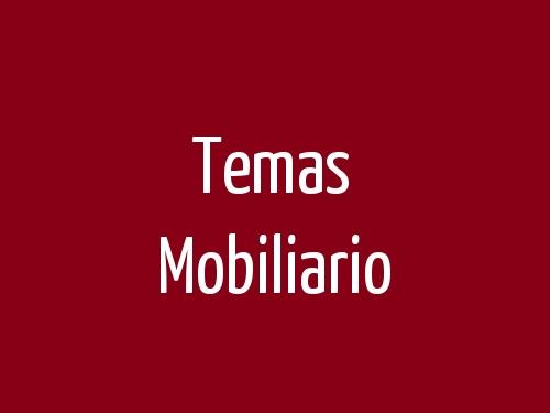 Temas Mobiliario