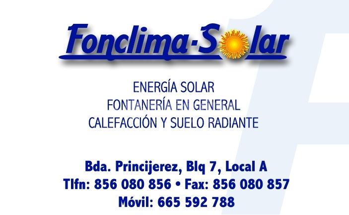 Fonclima-Solar S.L.