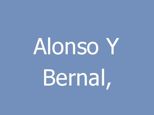 Alonso Y Bernal,
