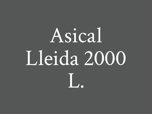 Asical Lleida 2000 L.