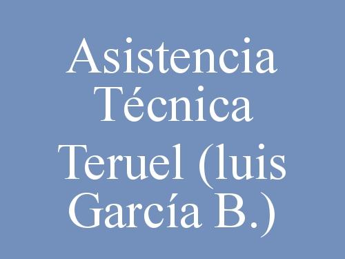 Asistencia Técnica Teruel  (luis García B.)