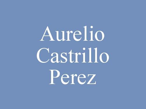 Aurelio Castrillo Perez