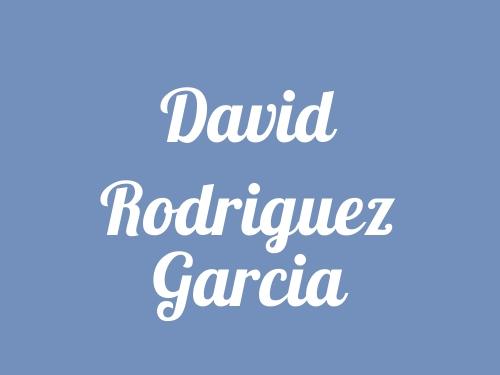 David Rodriguez Garcia