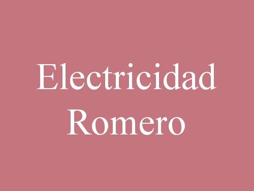 Electricidad Romero