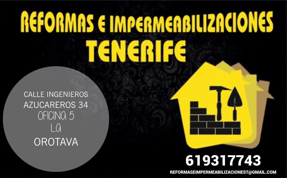 Reformas E Impermeabilizaciones Tenerife