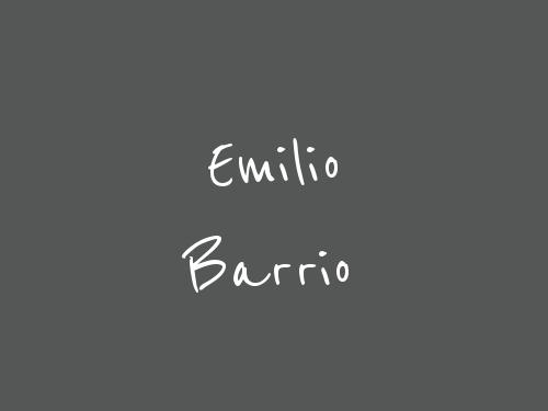 Emilio Barrio