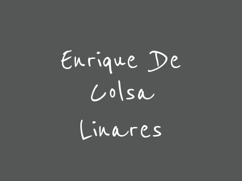 Enrique De Colsa Linares